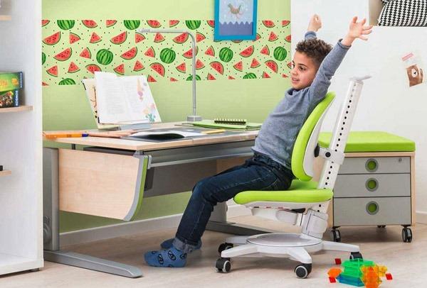 sedia ergonomica per bambino
