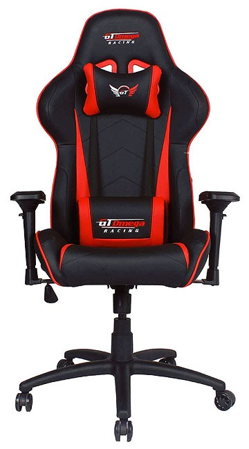 GT Omega PRO Racing sedia pelle