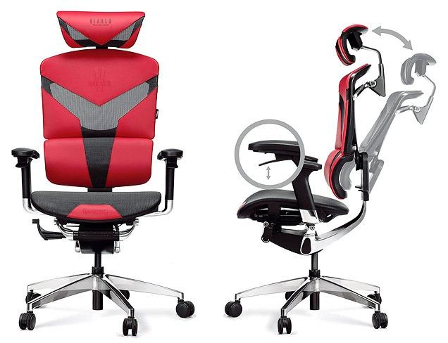 Diablo V-Dynamic Sedia da Ufficio ergonomica