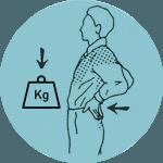 esercizi mal di schiena - perdere peso