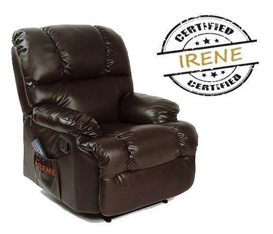 poltrona relax riscaldata reclinabile irene